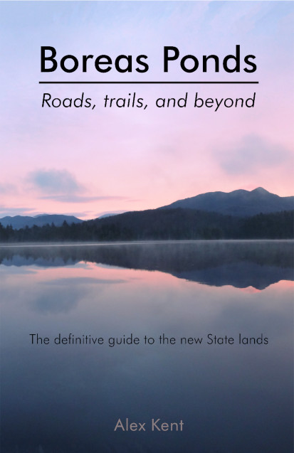 Cover of the new High Peaks guide book Boreas Ponds: Roads, Trails, and Beyond